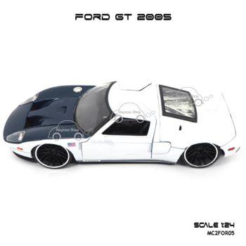 โมเดลรถเหล็ก FORD GT 2005 (1:24) แบรนด์ Jada Toy