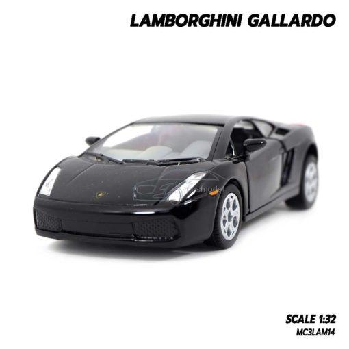 โมเดลรถเหล็ก LAMBORGHINI GALLARDO สีดำ (1:32)