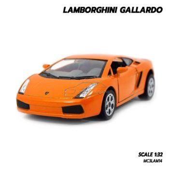 โมเดลรถเหล็ก LAMBORGHINI GALLARDO สีส้ม (1:32) lamborghini models