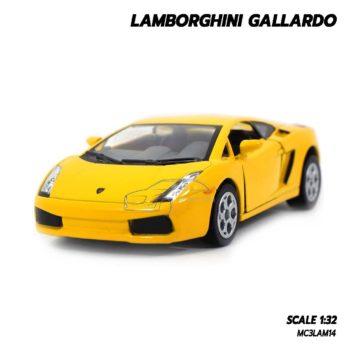 โมเดลรถเหล็ก LAMBORGHINI GALLARDO สีเหลือง (1:32) lamborghini models