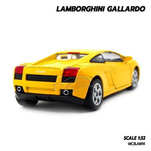 โมเดลรถเหล็ก LAMBORGHINI GALLARDO สีเหลือง (1:32) โมเดลประกอบสำเร็จ