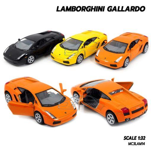 โมเดลรถเหล็ก LAMBORGHINI GALLARDO (1:32)