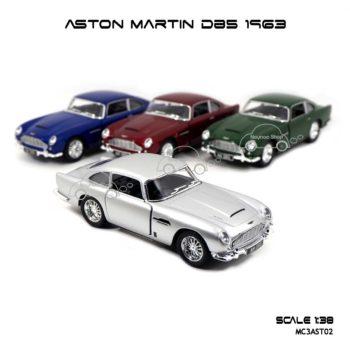 โมเดลรถ ASTON MARTIN DB5 1963 (1:38)