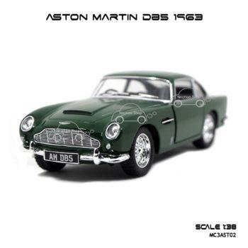 โมเดลรถ ASTON MARTIN DB5 1963 สีเขียว (1:38)