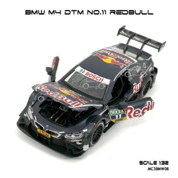โมเดลรถ BMW M4 DTM No.11 RedBull (1:32) เปิดห้องเครื่องได้