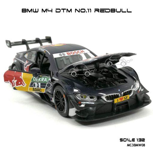 โมเดลรถ BMW M4 DTM No.11 RedBull (1:32) เปิดฝากระโปรงหน้าได้