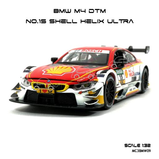 โมเดลรถ BMW M4 DTM Shell Helix Ultra