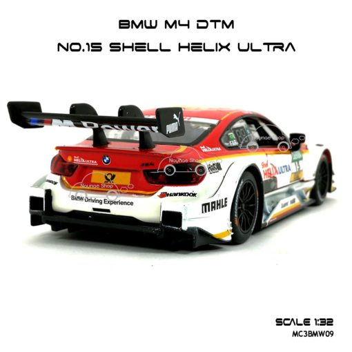 โมเดลรถ BMW M4 DTM Shell Helix Ultra (1:32)