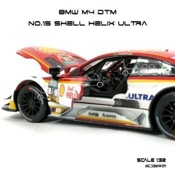 โมเดลรถ BMW M4 DTM Shell Helix Ultra (1:32) ภายในเหมือนจริง