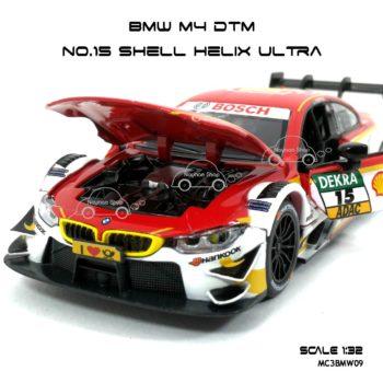 โมเดลรถ BMW M4 DTM Shell Helix Ultra (1:32) เปิดฝากระโปรงหน้าได้