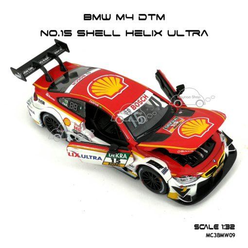 โมเดลรถ BMW M4 DTM Shell Helix Ultra (1:32) เปิดประตูซ้ายขวาได้