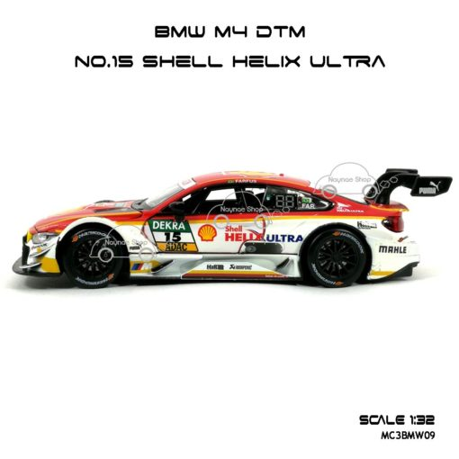 โมเดลรถ BMW M4 DTM Shell Helix Ultra (1:32) พร้อมตั้งโชว์