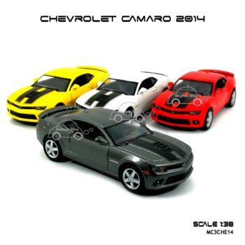 โมเดลรถ CHEVROLET CAMARO 2014 (1:38) รถโมเดลเหมือนจริง