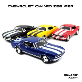 โมเดลรถ CHEVROLET CAMARO Z28 1967 (1:37)