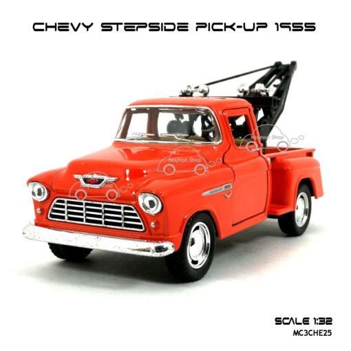 โมเดลรถยก CHEVY STEPSIDE PICK UP 1955 สีส้ม (1:32) โมเดล ประกอบสำเร็จ