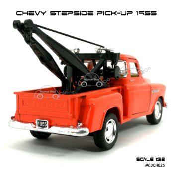 โมเดลรถยก CHEVY STEPSIDE PICK UP 1955 สีส้ม (1:32) รถโมเดล ราคาถูก