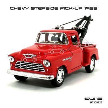 โมเดลรถยก CHEVY STEPSIDE PICK UP 1955 สีแดง (1:32) รถเหล็ก ราคาถูก
