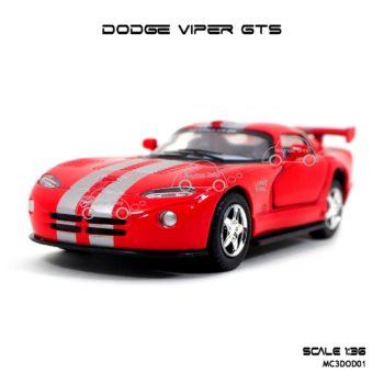 โมเดลรถเหล็ก DODGE VIPER GTS (1:36) โมเดลประกอบสำเร็จ