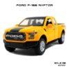 โมเดลรถ FORD F-150 RAPTOR สีเหลือง (1:32) รถโมเดลเหมือนจริง