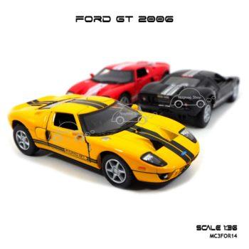 โมเดลรถ FORD GT 2006 (1:36)