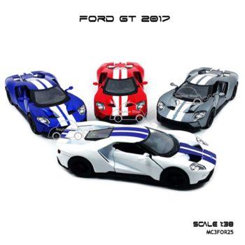 โมเดลรถ FORD GT 2017 คาดลาย (1:38)