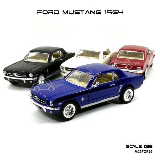 โมเดลรถ FORD MUSTANG 1964 (1:36)