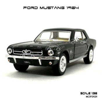 โมเดลรถ FORD MUSTANG 1964 สีดำ (1:36)