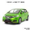 โมเดล honda jazz fit 2018 สีเขียว (1:32) โมเดลรถเหมือนจริง