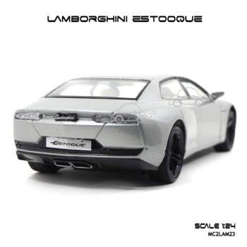 โมเดลรถ LAMBORGHINI ESTOQUE (1:24) ท้ายรถสวยๆ