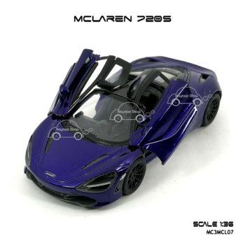 โมเดลรถ แมคลาเรน 720S สีม่วง (1:36)