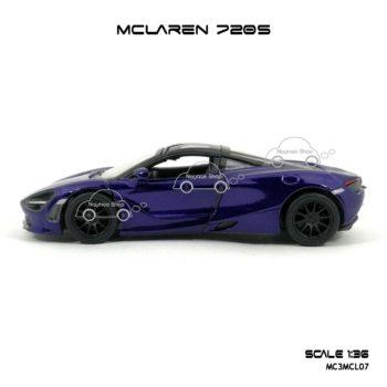 โมเดลรถ แมคลาเรน 720S สีม่วง (1:36) โมเดลรถเหล็ก ราคาถูก