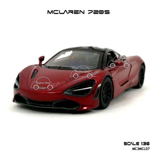 โมเดลรถ แมคลาเรน 720S สีแดง (1:36) รถเหล็ก ขายส่ง