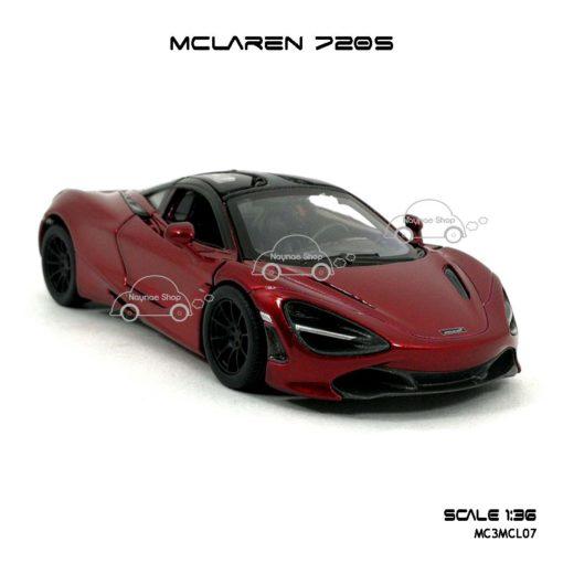 โมเดลรถ แมคลาเรน 720S สีแดง (1:36) โมเดลรถ รุ่นขายดี