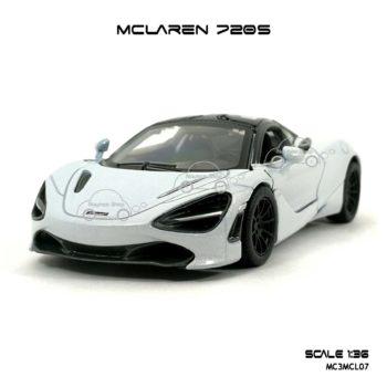 โมเดลรถ แมคลาเรน 720S สีขาว (1:36) โมเดลสำเร็จ