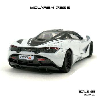 โมเดลรถ แมคลาเรน 720S สีขาว (1:36) โมเดลประกอบสำเร็จ