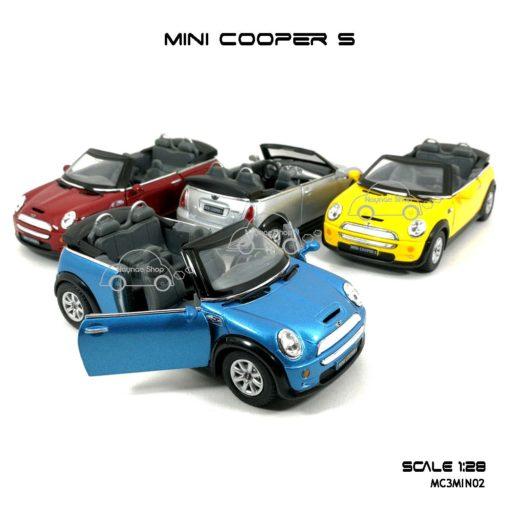 โมเดลรถ MINI COOPER S เปิดปะทุน (1:28)