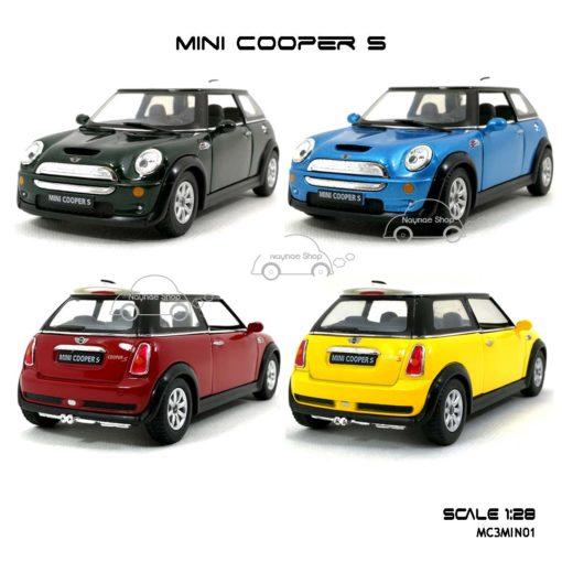 โมเดลรถ MINI COOPER S (1:28)