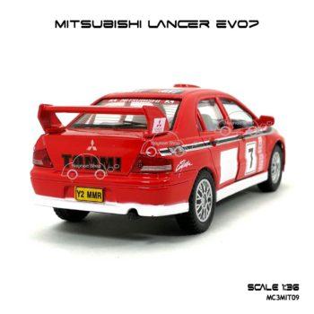 โมเดลรถเหล็ก Evo7 Rally (1:36) ลายสวย ขายดี