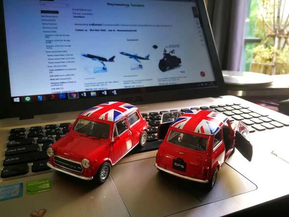 โมเดลรถ Mini Cooper 1300