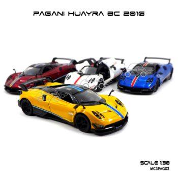 โมเดลรถ PAGANI HUAYRA BC 2016 คาดลาย (1:38)