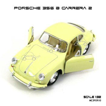 โมเดลรถ PORSCHE 356 B CARRERA 2 สีครีม (1:32)