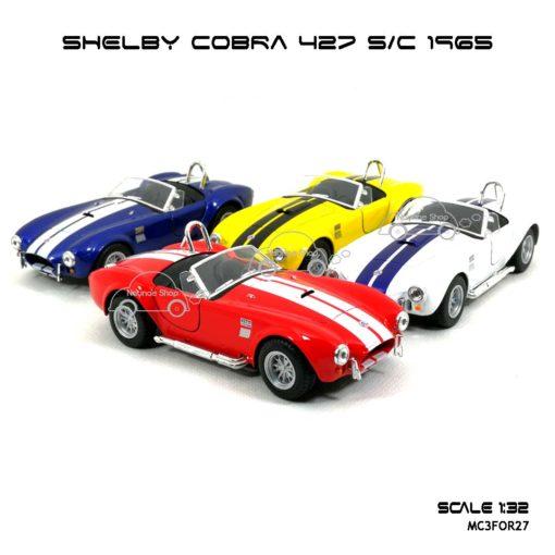 โมเดลรถ SHELBY COBRA 427 SC 1965 (1:32)
