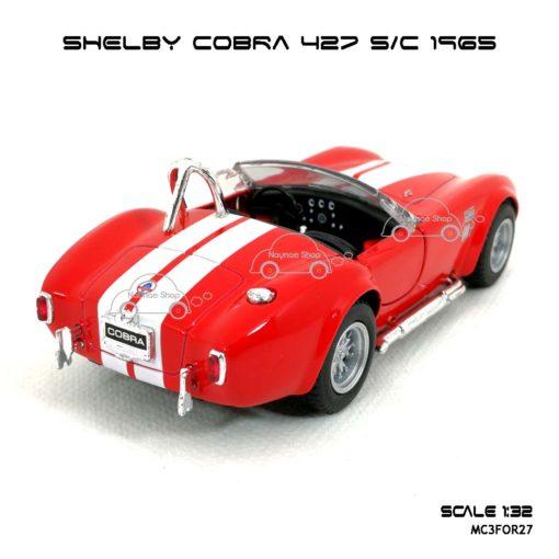 โมเดลรถ SHELBY COBRA 427 SC 1965 สีแดง (1:32) รถจำลอง เหมือนจริง