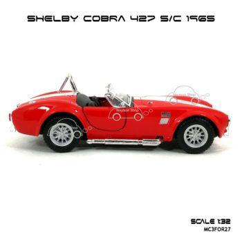 โมเดลรถ SHELBY COBRA 427 SC 1965 สีแดง (1:32) รุ่นขายดี