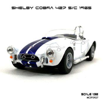 โมเดลรถ SHELBY COBRA 427 SC 1965 สีขาว (1:32) รุ่นขายดี