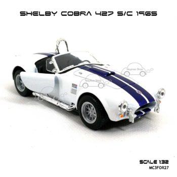 โมเดลรถ SHELBY COBRA 427 SC 1965 สีขาว (1:32) โมเดลสำเร็จ