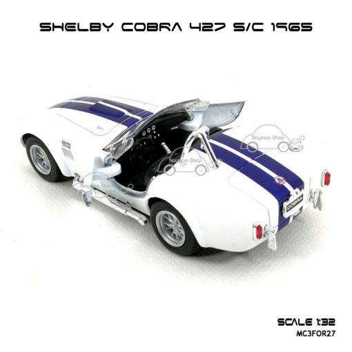 โมเดลรถ SHELBY COBRA 427 SC 1965 สีขาว (1:32) Kinsmart