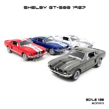 โมเดลรถ SHELBY GT-500 1967 (1:38)