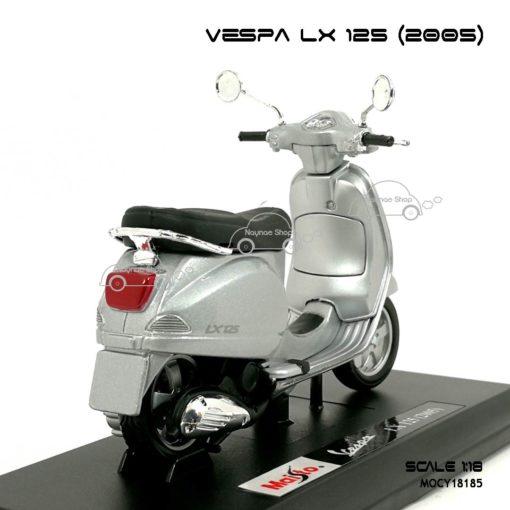 โมเดลเวสป้า VESPA LX 125 2005 สีบรอนด์