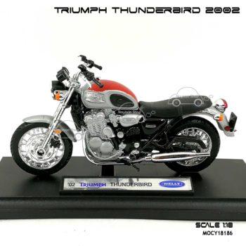 โมเดล รถคลาสสิค TRIUMPH THUNDERBIRD 2002 สีแดงบรอนด์ (1:18) โมเดล มอเตอร์ไซด์ คลาสสิค